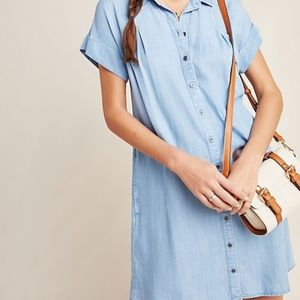 Lovely light chambray shirt shift dress! 💜😍